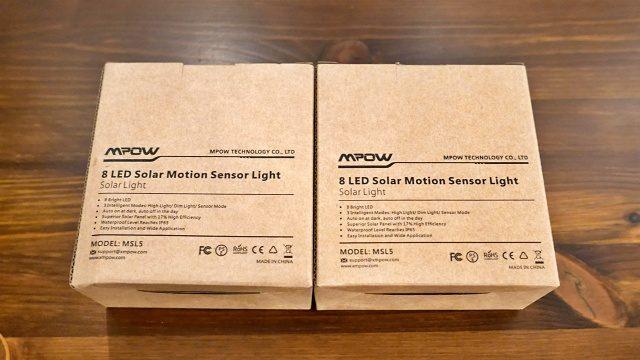 購入したMPOWの8LED照明