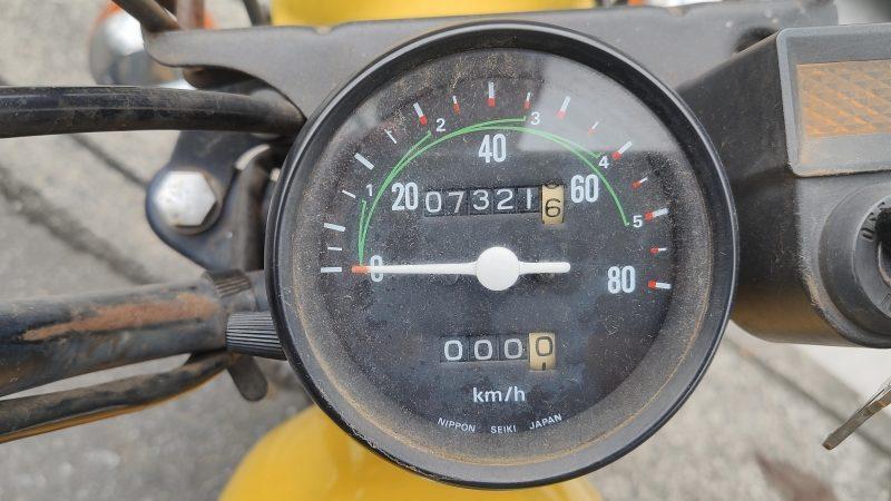 走行距離は7300km程。多分実走行でしょう。