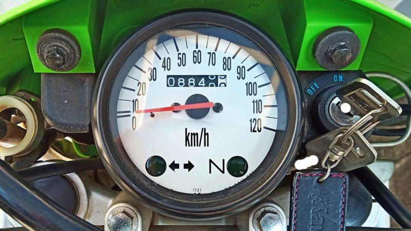 走行距離は8800km弱
