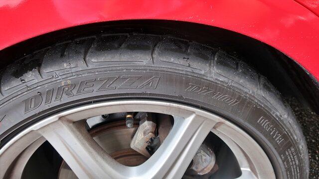 タイヤはディレッツァを履きました