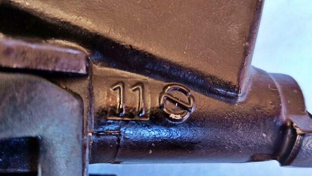 マスターシリンダーのピストン径は11mm