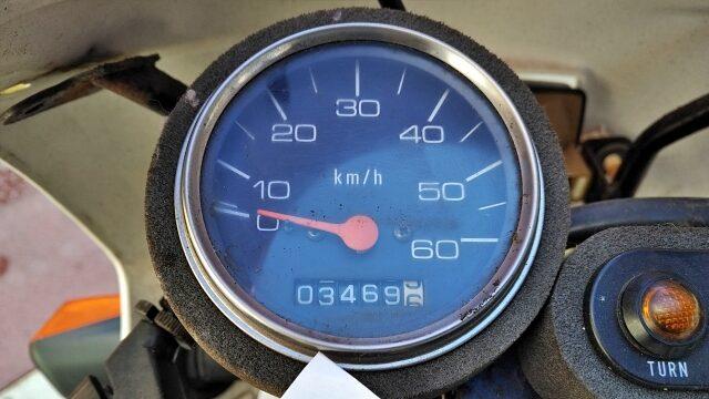 走行距離は約3500キロ