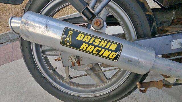 マフラーはダイシンレーシング製